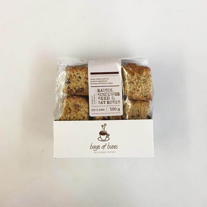 Raisin Sunflower Seed & Oat Rusks