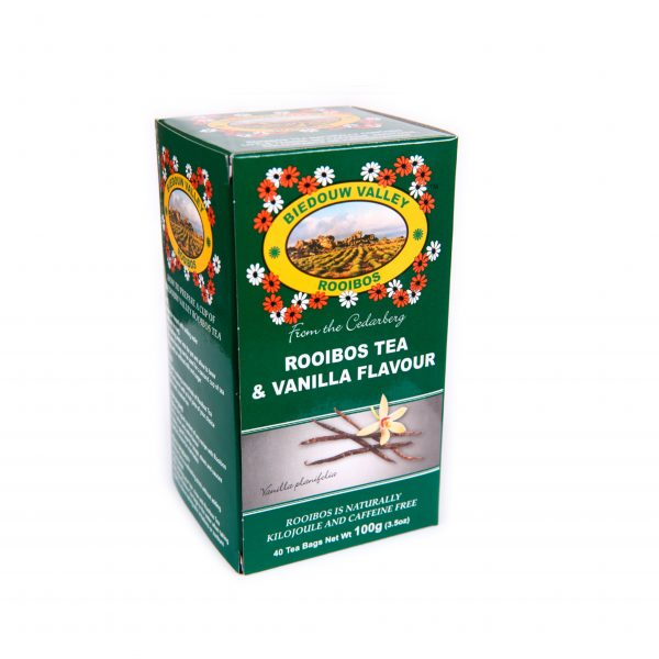 Rooibos Tea and Vanilla Flavour 100g