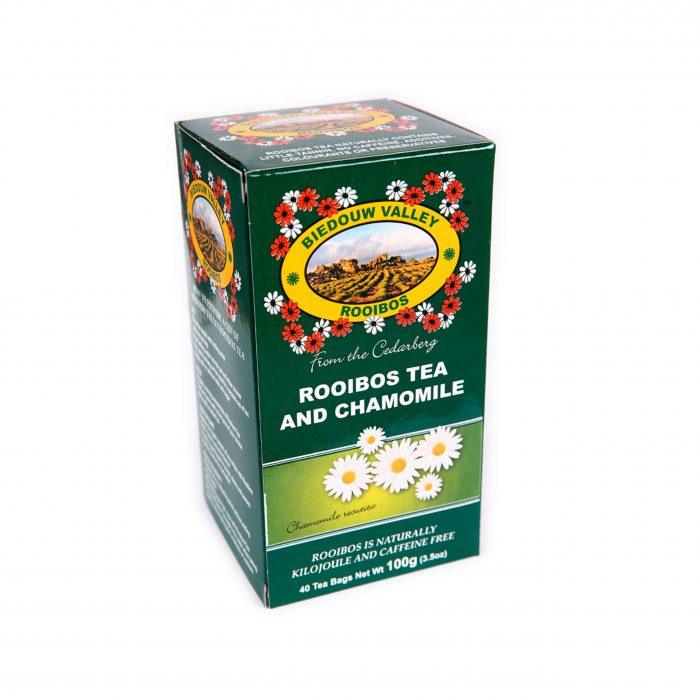 Rooibos Tea and Chamomile 100g