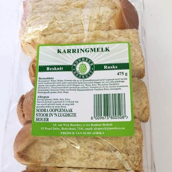 Buttermilk Rusks 475g