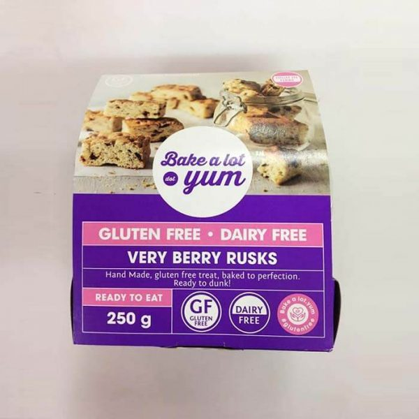 Very Berry Rusks