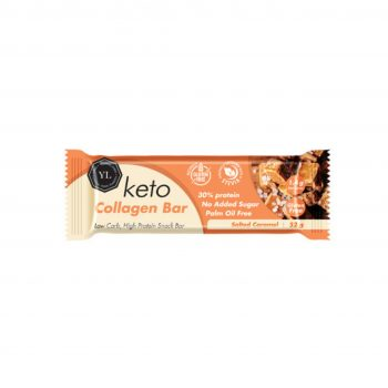 Keto Vegan Collagen Bar – Salted Caramel