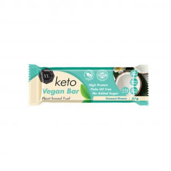 Keto Vegan Collagen Bar – Coconut Dream